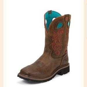 TONY LAMA New Womens Western Work Boot (Size 8.5B)